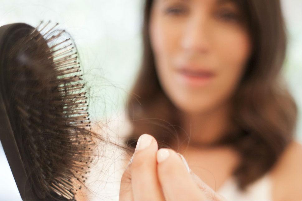 håravfall stress