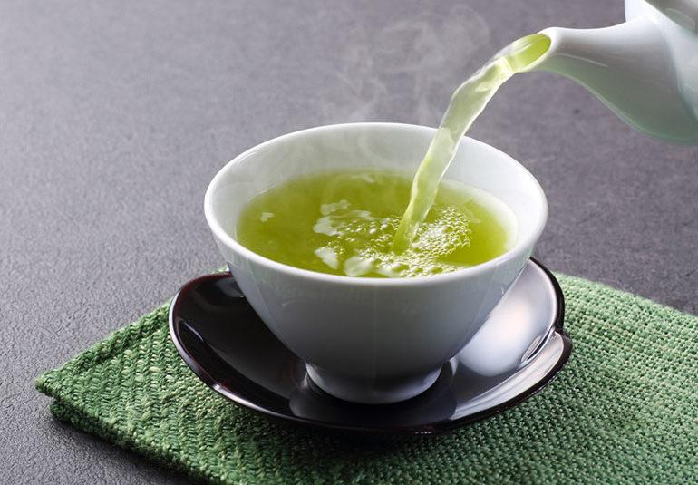 grönt te och håravfall