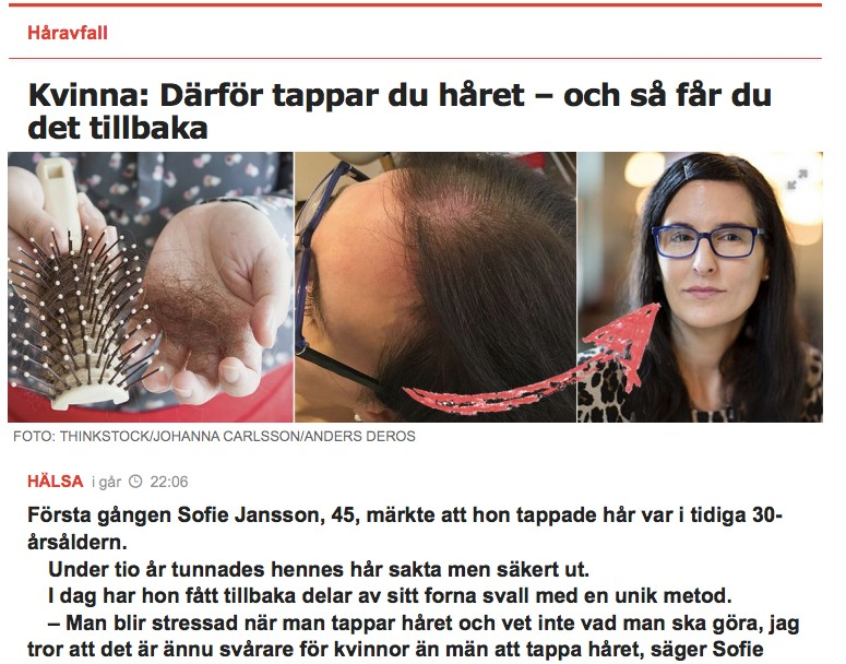 Akacia Medical i Aftonbladet